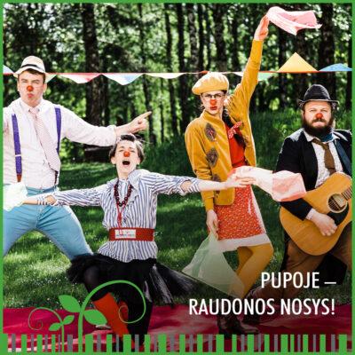 PUPOJE – RAUDONOS NOSYS!
